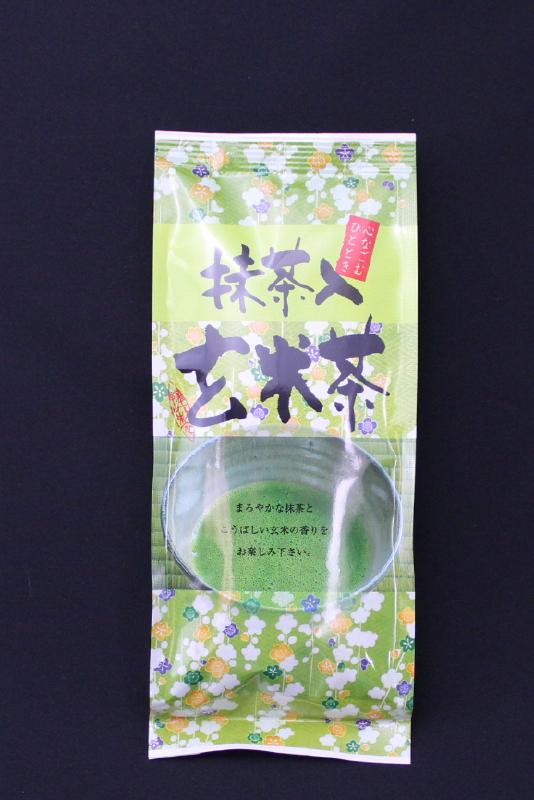 抹茶入玄米茶  200 g